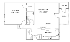 floor palns floor plans one bedroom apartments in clifton park ny