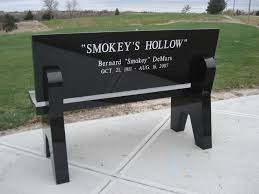 Personalized Park Bench Personalized Memorial Benches For Lincoln Beatrice And Hastings