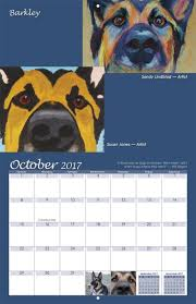 boxer dog 2016 calendar dog rescue calendar with paintings yearbox calendars
