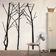 entrancing sticker trees wall decals on white wall painted feat entrancing sticker trees wall decals on white wall painted feat white wooden wardrobe also single armless chairs in modern bedroom decors tips