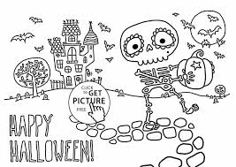 Free Printables For Halloween by Kids Halloween Printables Free Jack Oulantern Printable Halloween
