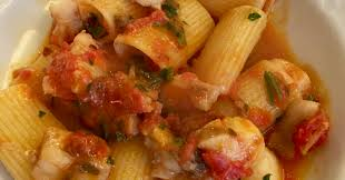 cooking off the cuff more fish with more pasta u2013 rigatoni with