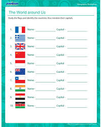 the world around us free 5th grade geography worksheet jumpstart