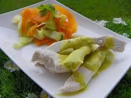 cuisine a la vapeur poulet vapeur tagliatelles et veloute de legumes thermomix