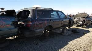 lexus es300 wrecking junkyard find 1988 toyota camry wagon with five speed the truth