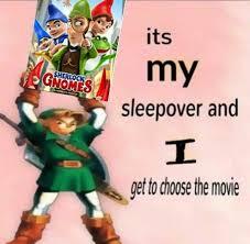 Gnome Meme - dopl3r com memes its my sherlock gnome sleepover and get to