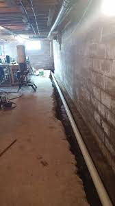 interior drainage tile replacement and installation