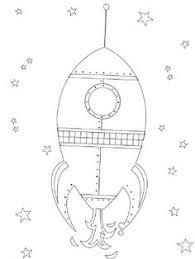 rocket space coloring pages felt board ideas templates