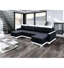 canape en u convertible canape noir et blanc convertible canapa sofa divan canapac