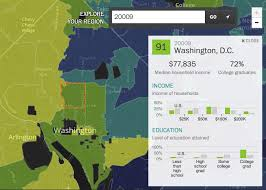 Zip Code Maps by The Washington Post Maps America U0027s U201csuper Zips U201d U2013 Points Of Interest