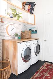 Countertop Clothes Dryer Diy A Waterfall Countertop Laundry Room Organization Ideas