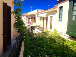 two storey house with roof garden in old town rethymnon crete