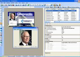 card software id card software for employee tag id and security badge