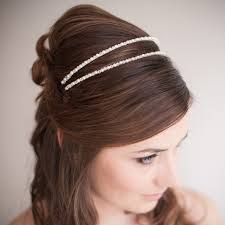 bridal headband ii pearl and bridal headband