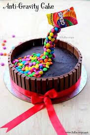 how to make a gravity defying cake kit kat m u0026m gems cake