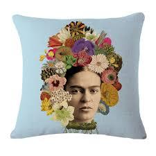 aliexpress com buy square 45cm cushion cover frida kahlo