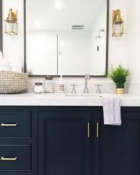 Cheap Bathroom Vanity Ideas Navy Bathroom Vanity Brass Pulls Design Ideas With Blue Plan 18