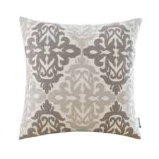 Linen Covers Gray Print Pillows White Walls Grey Shop Pillow Covers
