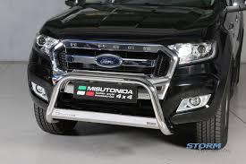 Ford Ranger Truckman Top - ford ranger t6 2012 2017 mach front bar bull bar nudge bar eu