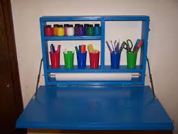 Kids Art Desk With Storage by Ana White Ammon U0027s Art Desk Diy Projects
