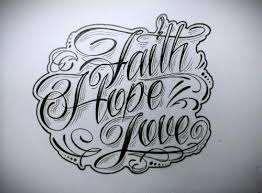 faith hope love tattoo tattoo collections