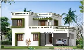home design house attractive house designs beautiful sloping roof villa kerala