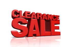 tesco clearance sale