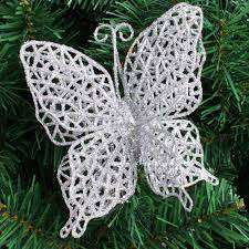 Red Butterfly Christmas Tree Decorations by Decorate Real Christmas Tree Picture More Detailed Picture About
