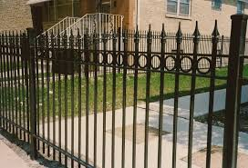 wrought iron fence chicago top line fence