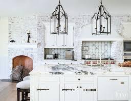 traditional backsplashes for kitchens traditional white kitchen with delft tile backsplash luxe