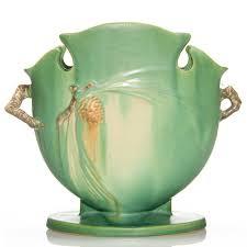 Roseville Pinecone Vase Humler U0026 Nolan Roseville