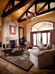 Living Room Ceiling Beams 31 Best High Ceiling Beam Living Spaces Images On Pinterest