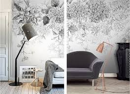 black and white botanical wall art at home with ashley