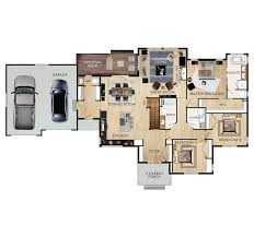 Great Room Floor Plans Single Story Beaver Homes And Cottages Book