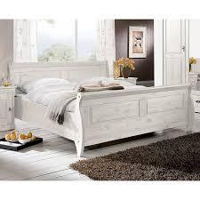 Komplett Schlafzimmer Bett 160 Cm Landhaus Schlafzimmer Roland Ii Kiefer Massiv Weiß Lasiert