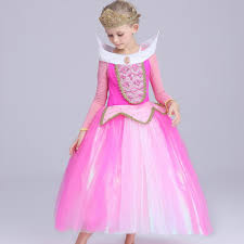 Girls Halloween Costume Aliexpress Buy Kid Sleeping Beauty Aurora Cosplay Costume