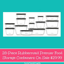 28 rubbermaid premier food storage containers on sale 29 99