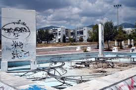 athens u0027 olympic venues in ruins ten years after the games
