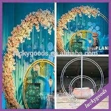 Wedding Arches Buy Ldj589 White Metal Wedding Arch Stage Decoration Arch Buy White