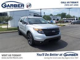 pre owned ford explorer sport pre owned 2015 ford explorer for sale in saginaw mi at garber
