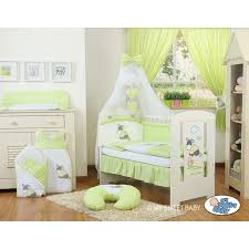 chambre bébé pas chere parure de lit bébé âne vert accessoire pour bébé pas cher
