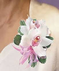 orchid corsage and dendro corsage formal corsage wristletts