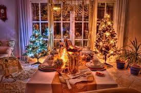 At Home Christmas Trees by Christmas Home Wallpapers Group 83