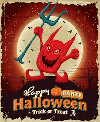 download 5 free halloween party vector designs