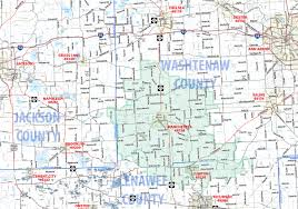 Chelsea Michigan Map by Manchester Mi 48158 Circulation Map