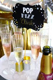 new year u0027s eve champagne bar party ideas catch my party