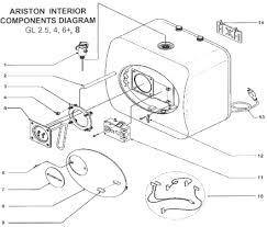 ariston water heater replacement repair parts