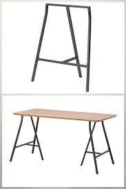 bureau treteau ikea tréteaux design 21 idées pour la table ou le bureau