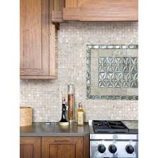 mother of pearl tile kitchen backsplash ideas