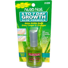 nutra nail 5 to 7 day growth aloe formula 45 fl oz 13 ml